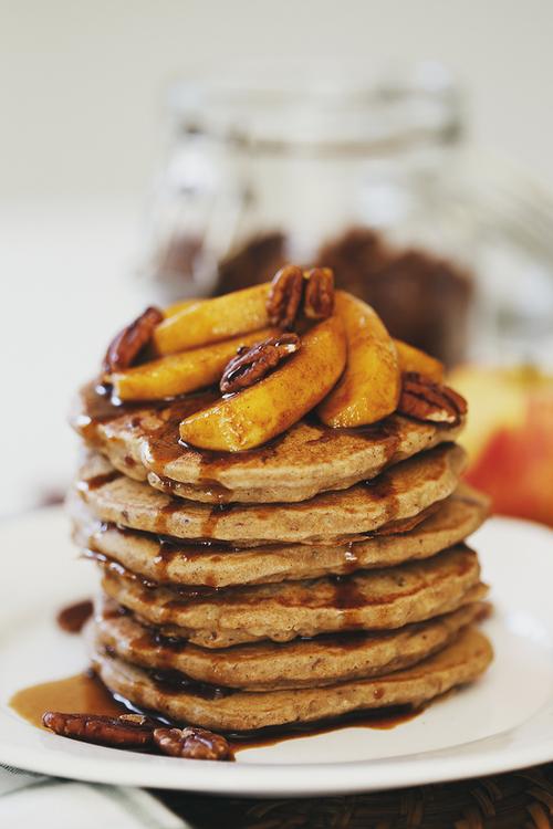 Resultado de imagen de Gluten-Free Vegan Coconut Buckwheat Pancakes