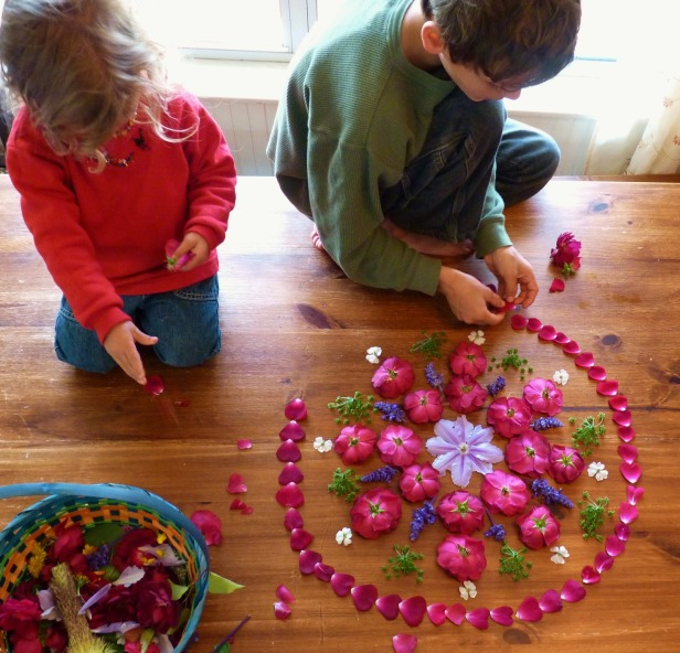 Image result for kids painting mandalas