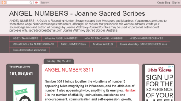 Resultado de imagen de angel numbers sacred scribes